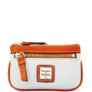 $84 *NEW* Dooney & Bourke Pebble Grain Small Coin